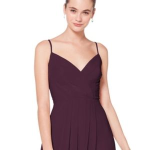 Bill Levkoff 7072 Bridesmaid Dress (Eggplant)